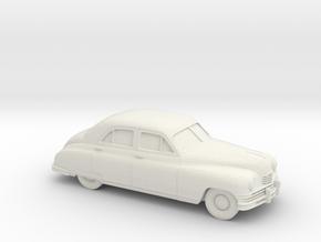 1/87 1948-50  Packard Super Eight Series Sedan in White Strong & Flexible