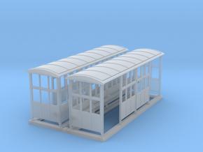 British N-Gauge (1/148) Medium Platform Shelter Op in Frosted Ultra Detail