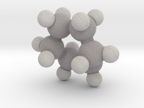 Cyclohexane (boat) in Full Color Sandstone