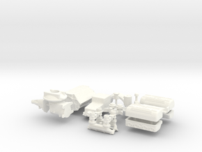 1/8 Flathead W Ardun Head 4 Deuce Intake in White Strong & Flexible Polished