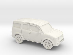 1/87 2002-07 Honda Element in White Natural Versatile Plastic