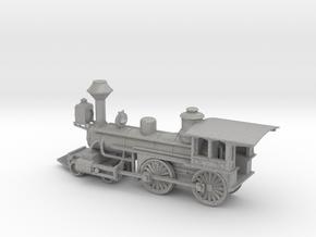 Grant 4-4-0 Locomotive - Aluminum - Nscale in Aluminum