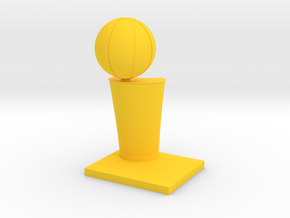 NBA Trophy Pen Holder in Yellow Strong & Flexible Polished