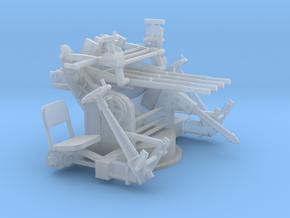 1/56 IJN Type 93 13.2mm Quad Mount in Smooth Fine Detail Plastic