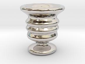 Tiny Vase in Platinum