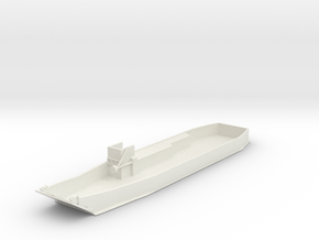 1/285 Scale LCU-1610 Class Landing Craft in White Strong & Flexible