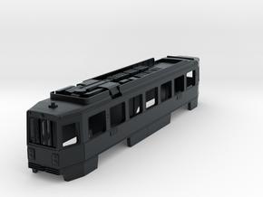 N Scale SEPTA Kawasaki Single-End LRV Body Shell in Black Hi-Def Acrylate