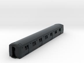 N Scale R44/R46 Subway Car B Unit Shell in Black Hi-Def Acrylate