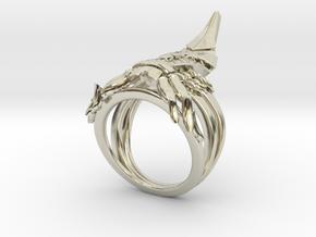 Reaper Ring in 14k White Gold: 7 / 54