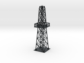 Oil rig - short in Black Hi-Def Acrylate