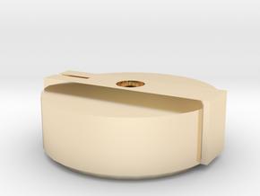 Boss MA-1 Mascot Amplifier Knob in 14K Yellow Gold