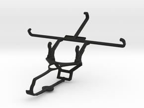 Steam controller & alcatel Fierce 4 - Front Rider in Black Natural Versatile Plastic