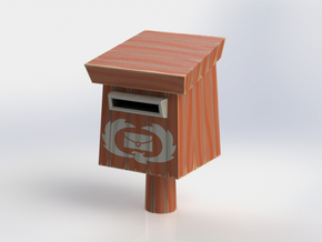 """WW"" Rito Mailbox in Full Color Sandstone"