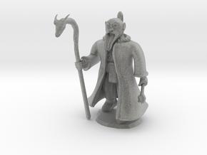 Dwarven Wizard in Metallic Plastic