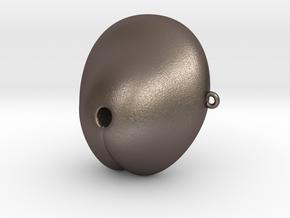 Electrosex Penis tip, E-Stim V3 Classic in Polished Bronzed Silver Steel