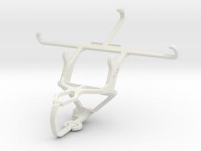 Controller mount for PS3 & alcatel Pop Star in White Natural Versatile Plastic