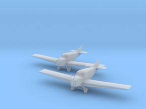 Junkers F.13 (wheels) 1:200 x2 FUD in Smooth Fine Detail Plastic