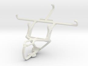Controller mount for PS3 & alcatel Pop Star LTE in White Natural Versatile Plastic