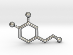 Molecules - Dopamine in Natural Silver