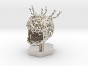 Beholder Token in Rhodium Plated Brass: 1:50