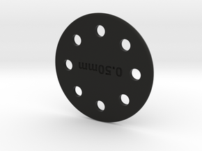 FED Disk20mg Sep2016 in Black Natural Versatile Plastic