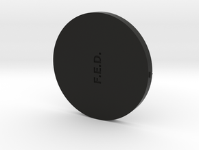 FED Lid Sep2016 in Black Natural Versatile Plastic