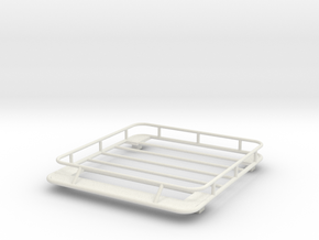 1/24 1/25 small roof rack in White Strong & Flexible