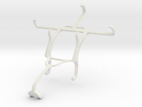 Controller mount for Xbox 360 & Celkon A403 in White Natural Versatile Plastic