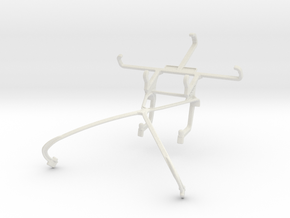 Controller mount for Shield 2015 & Celkon A403 in White Natural Versatile Plastic
