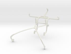 Controller mount for Shield 2015 & Celkon A407 in White Natural Versatile Plastic