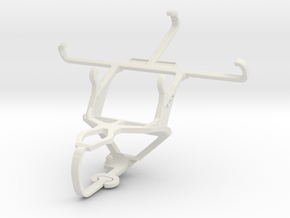 Controller mount for PS3 & Celkon A407 in White Natural Versatile Plastic