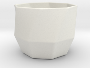 LittlePot in White Natural Versatile Plastic