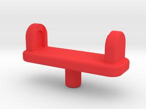 Forearm Gun Adapter in Red Processed Versatile Plastic