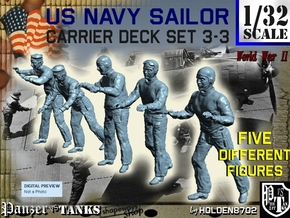 1-32 US Navy Carrier Deck Set 3-3 in Frosted Ultra Detail