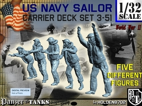 1-32 US Navy Carrier Deck Set 3-51 in Frosted Ultra Detail