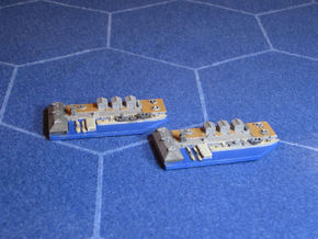 Naval Base in Smooth Fine Detail Plastic