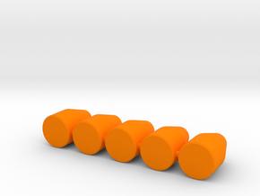 9mm 115 Gr JHP in Orange Processed Versatile Plastic