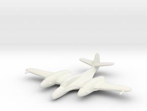 McDonnell XP-67 'Moonbat' in White Natural Versatile Plastic: 1:200