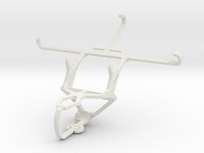 Controller mount for PS3 & Lenovo P2 in White Natural Versatile Plastic