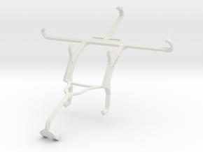 Controller mount for Xbox 360 & Lenovo Vibe S1 Lit in White Natural Versatile Plastic