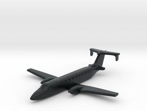 Beechcraft 1900 Scale 1:700 in Black Hi-Def Acrylate