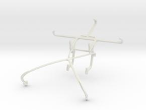 Controller mount for Shield 2015 & Meizu m1 metal in White Natural Versatile Plastic