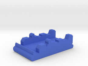 Game Piece, Blue Force Landing Hovercraft in Blue Processed Versatile Plastic
