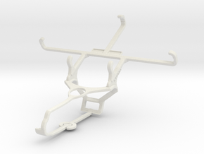 Controller mount for Steam & Motorola Moto G4 Play in White Natural Versatile Plastic