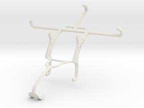 Controller mount for Xbox 360 & Panasonic Eluga I2 in White Natural Versatile Plastic