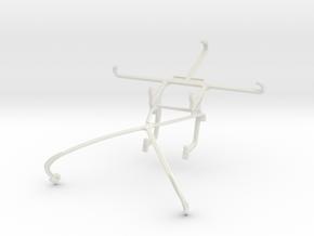 Controller mount for Shield 2015 & Panasonic Eluga in White Natural Versatile Plastic