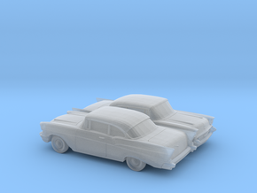 1/160 2X 1957 Chevrolet BelAir Coupe in Frosted Ultra Detail