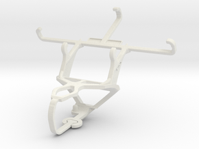Controller mount for PS3 & Plum Axe LTE in White Natural Versatile Plastic