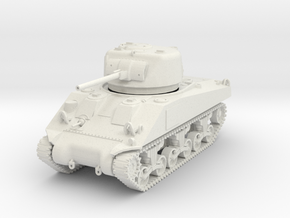 PV141A M4 Sherman (Mid Production) (28mm) in White Natural Versatile Plastic