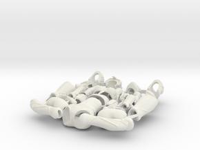 Lantea in White Strong & Flexible